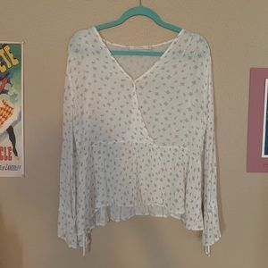 Tops - White peasant blouse